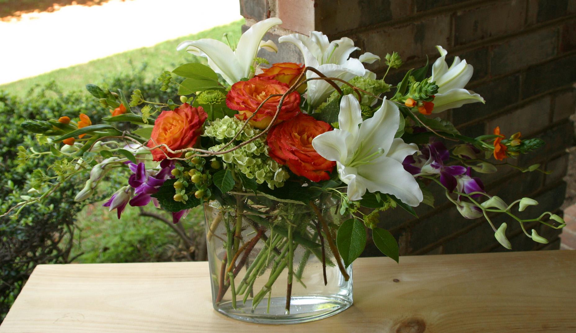 florist flower delivery unusual arrangement custom floral design